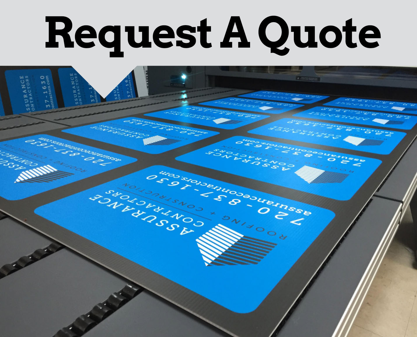 Request a Quote for Printing and Marketing Services