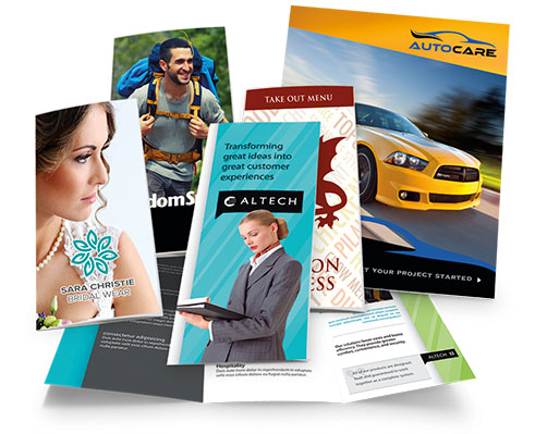 Commercial printing - copies, booklets, posters, flyers, brochures
