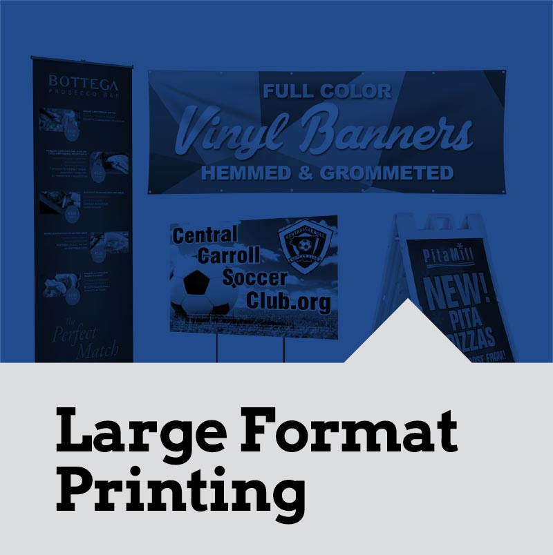 Large Format Printing for Banners Signs and Posters