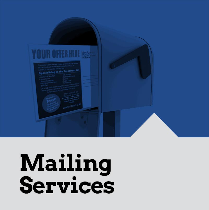 Mailing Fulfillment Services