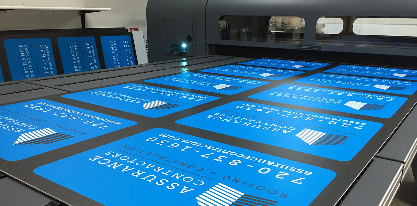 Large Format Printing for Signs Banners and Posters
